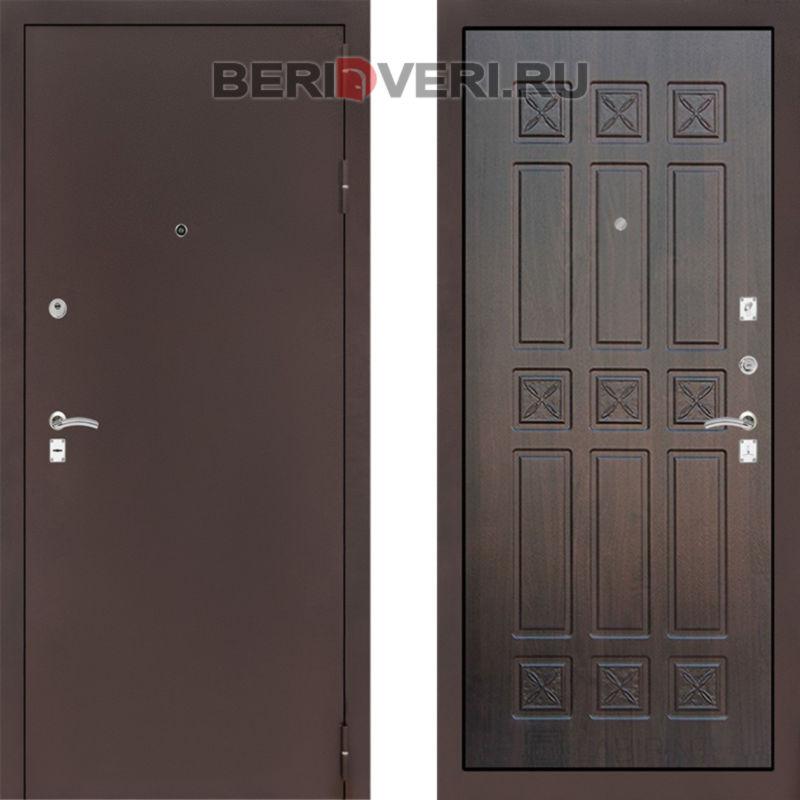 Металлическая дверь Лабиринт CLASSIC антик медный 16 Алмон 28