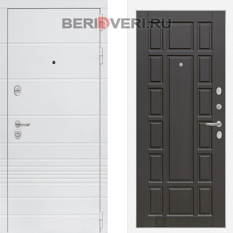 Металлическая дверь Лабиринт Трендо 12 Венге