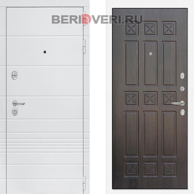 Металлическая дверь Лабиринт Трендо 16 Алмон 28