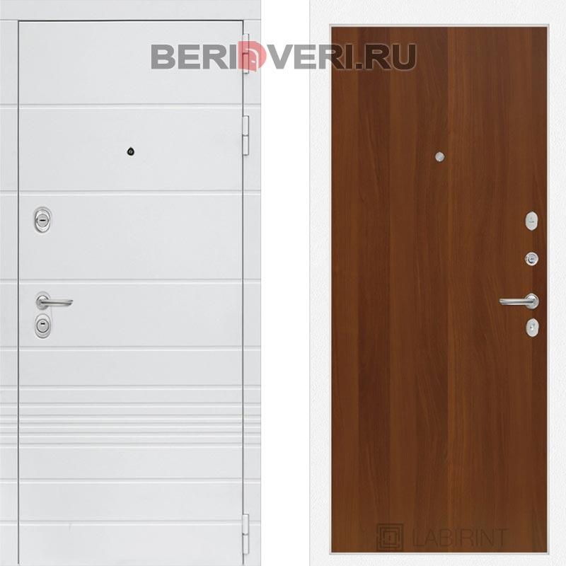 Металлическая дверь Лабиринт Трендо 05 Итальянский орех