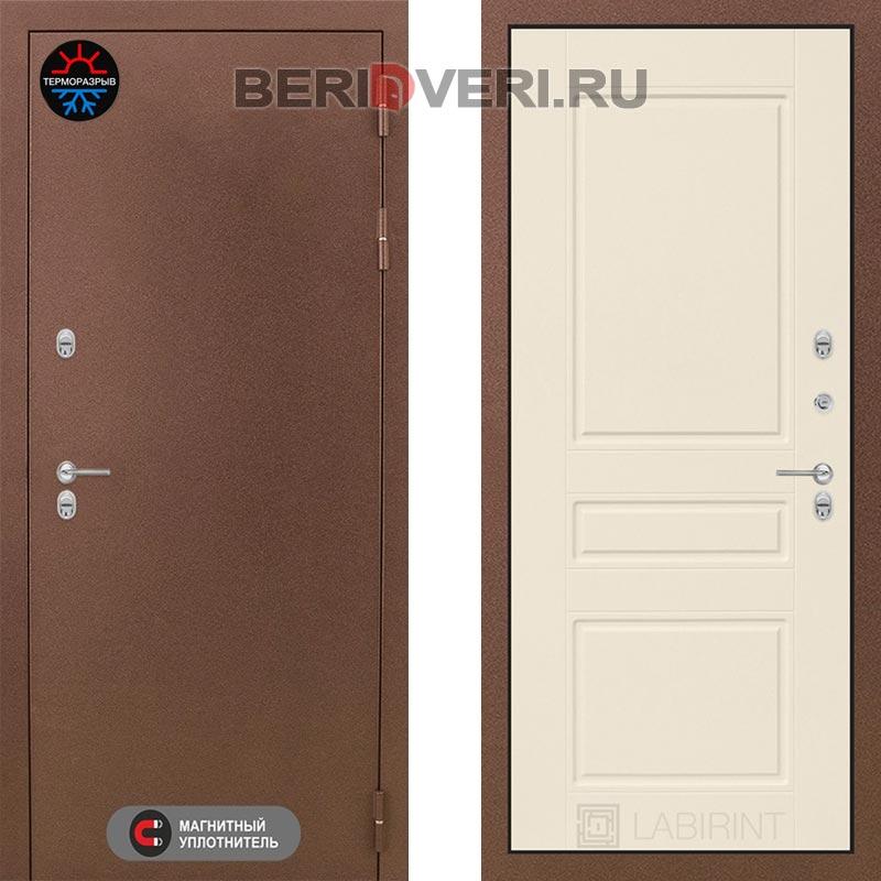 Металлическая дверь Лабиринт Термо Магнит 03 Крем софт