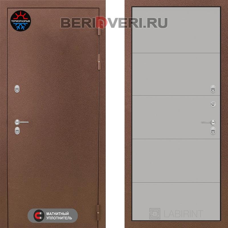 Металлическая дверь Лабиринт Термо Магнит 13 Грэй софт