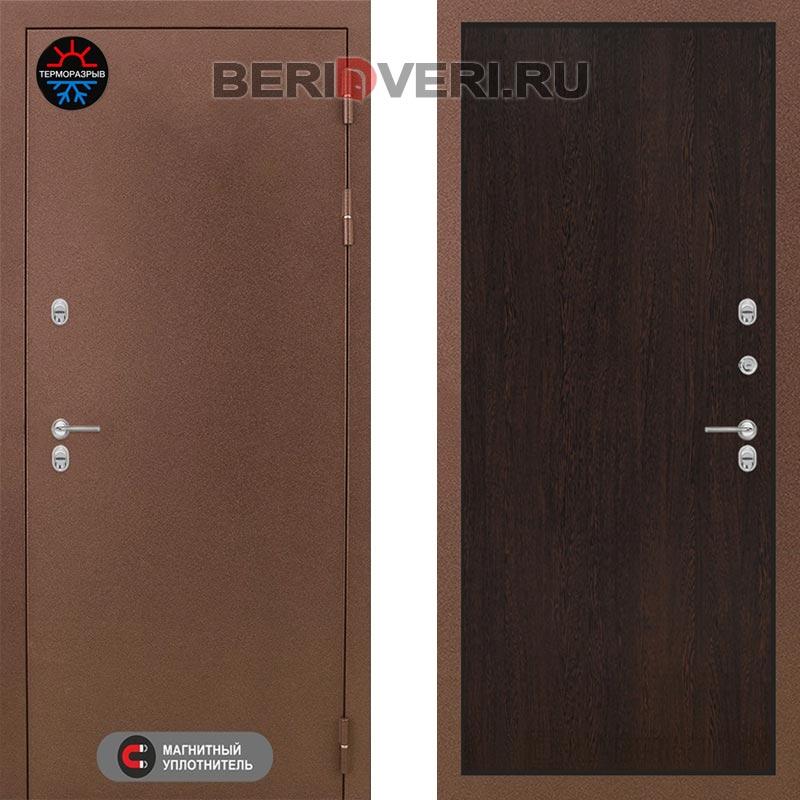 Металлическая дверь Лабиринт Термо Магнит 05 Венге
