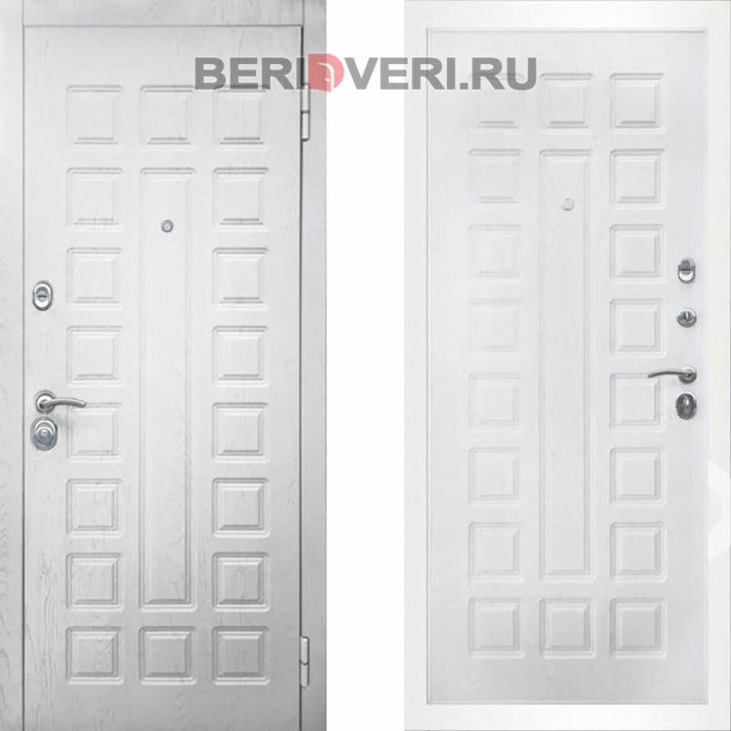 Металлическая дверь Снедо S01 2К Альберо браш грей