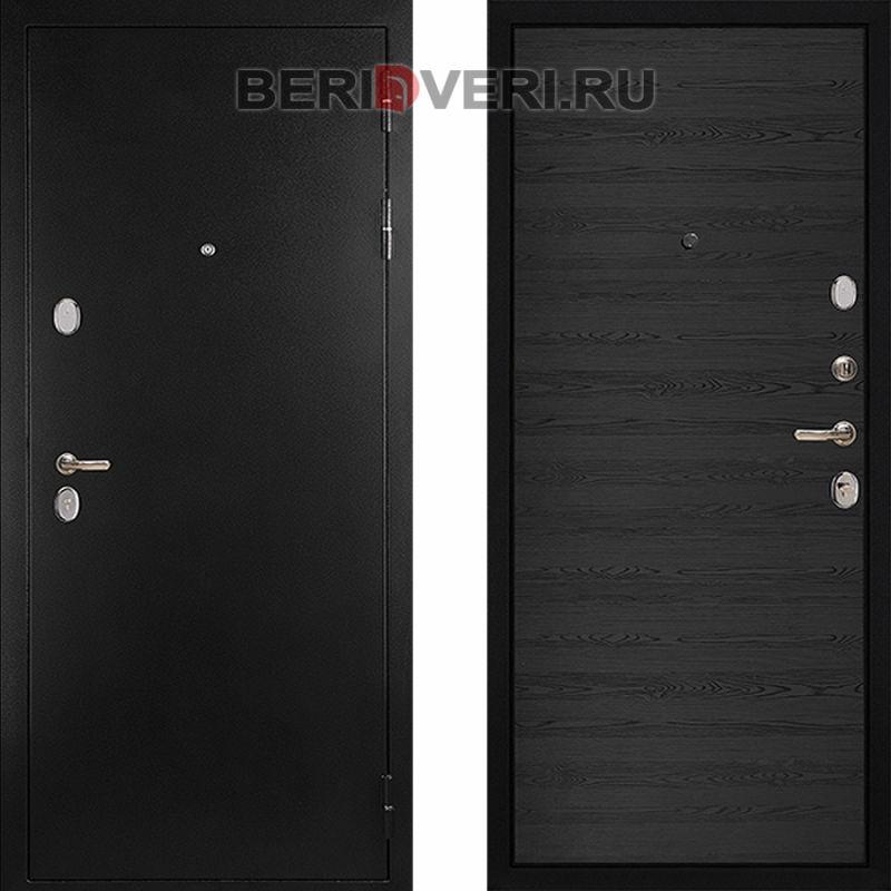 Металлическая дверь Дива С-505 Черное дерево