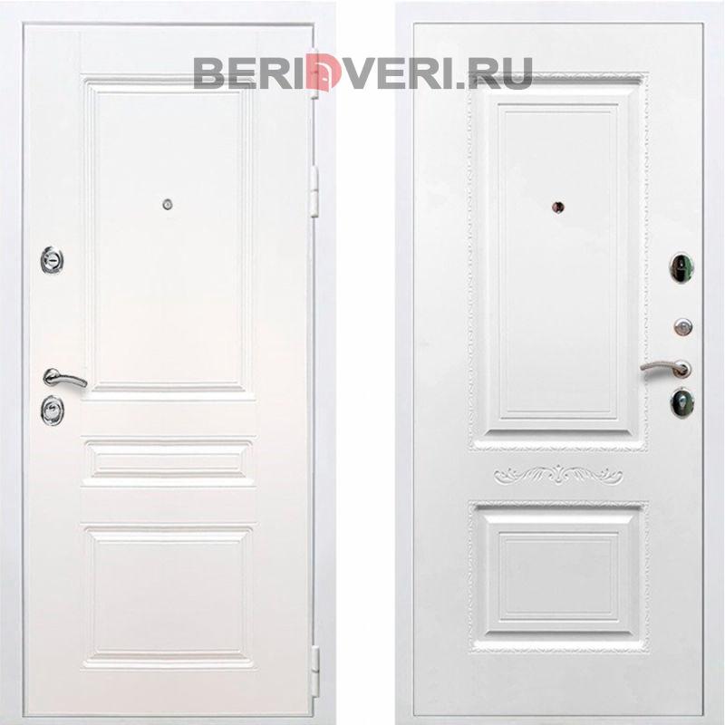 Металлическая дверь REX Премиум H Смальта 04 / Белый