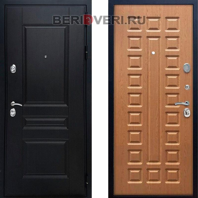 Металлическая дверь REX Премиум H ФЛ-183 Дуб светлый