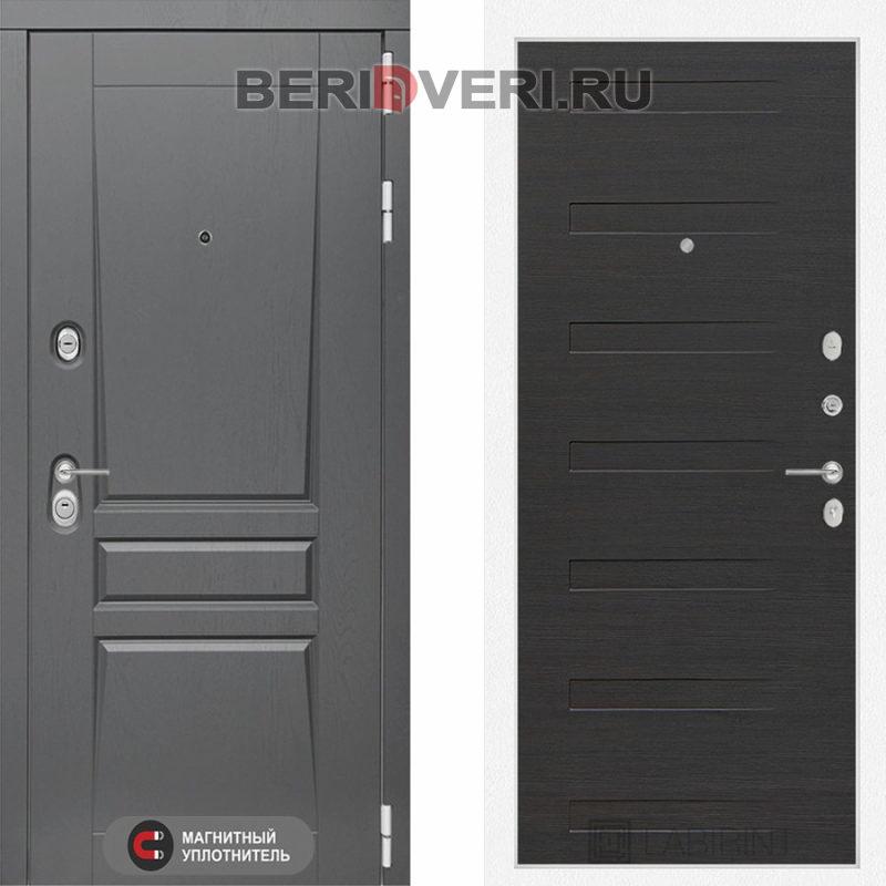 Металлическая дверь Лабиринт Платинум 14 Эковенге