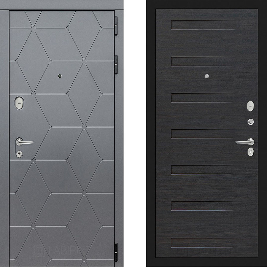 Металлическая дверь Лабиринт COSMO 14 Эковенге