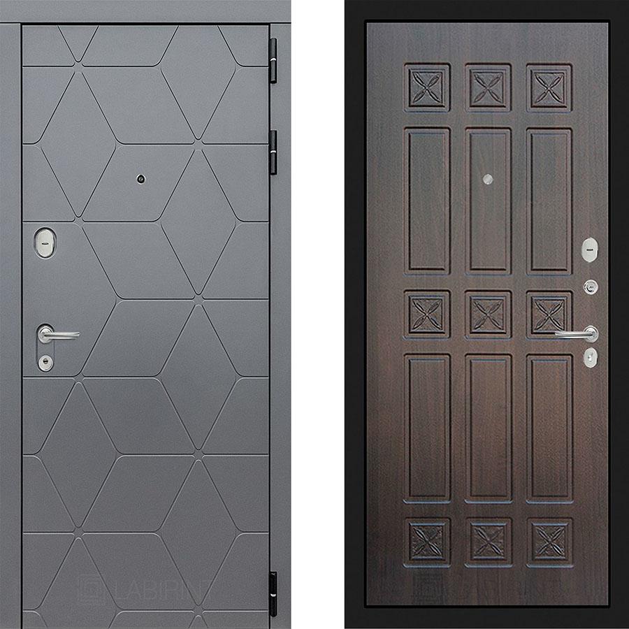 Металлическая дверь Лабиринт COSMO 16 - Алмон 28