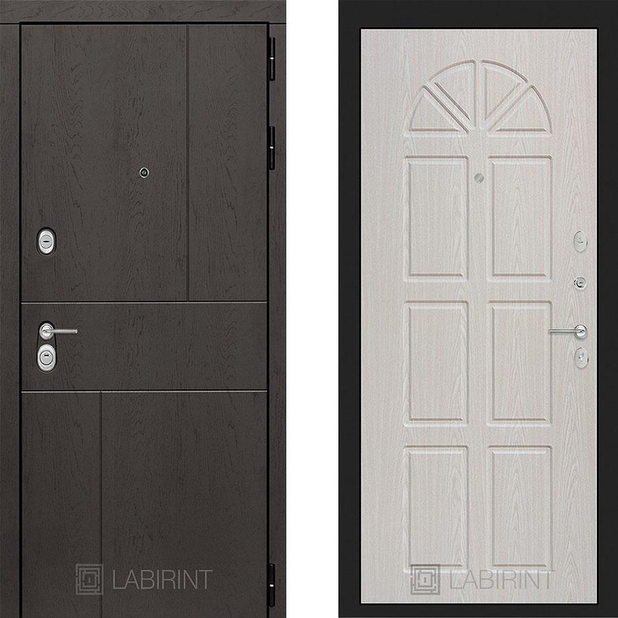 Металлическая дверь Лабиринт URBAN 15 Алмон 25