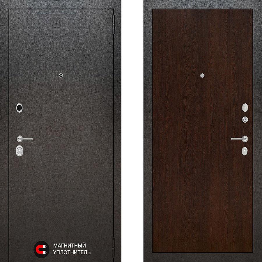 Металлическая дверь Лабиринт SILVER 05 Венге