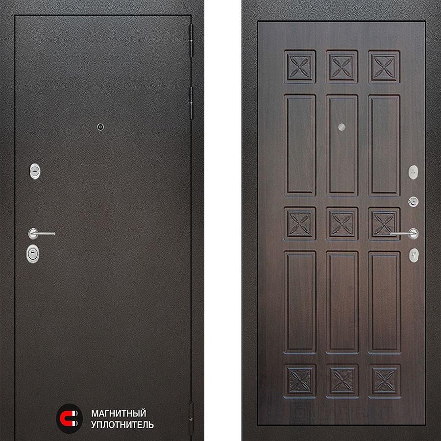Металлическая дверь Лабиринт SILVER 18 Алмон 28