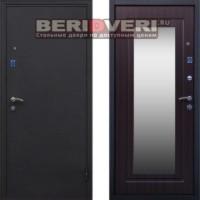 Металлическая дверь СТОП Зеркало Венге