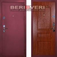 Металлическая дверь Сударь 3 брусника