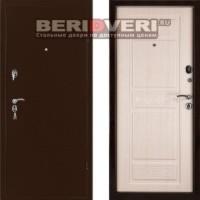 Металлическая дверь Промет BMD-4 Соломон Беленый дуб