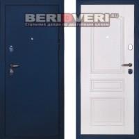 Металлическая дверь Сударь 3 синий CISA