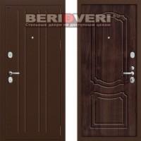 Металлическая дверь Groff P2-201 Темная вишня