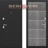 Металлическая дверь Groff T2-204 Серый дуб