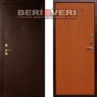 Металлическая дверь Лекс 1 Клен Красный