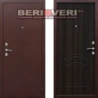Металлическая дверь Геркон 1512 Венге