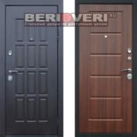 Металлическая дверь АСД Фортуна Орех бренди