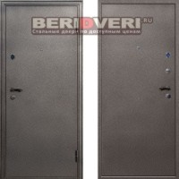 Металлическая дверь СТОП Стандарт Металл Серебро