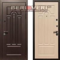 Металлическая дверь REX Эврика Беленый дуб
