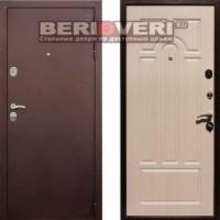 Металлическая дверь REX 5A Беленый дуб