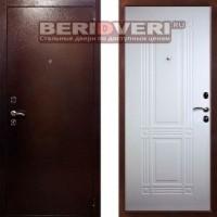 Металлическая дверь Кондор 2 Белый ясень