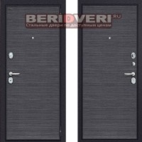 Металлическая дверь Groff Т3-300 Black Wood