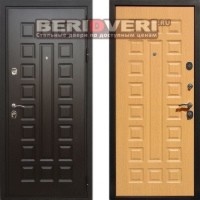 Металлическая дверь REX Премиум 3 (Гладиатор) Дуб светлый
