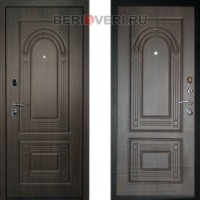 Металлическая дверь ДК Флоренция Венге 3К