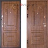 Металлическая дверь ДК Флоренция Золотой дуб 3К