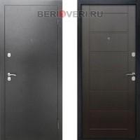 Металлическая дверь REX Сити Венге