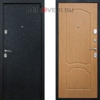 Металлическая дверь REX 3 Дуб светлый