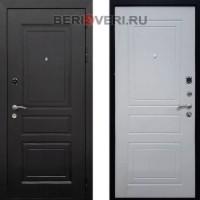 Металлическая дверь REX 6 Ясень белый