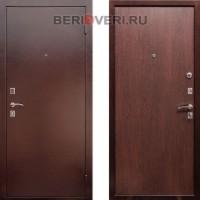 Металлическая дверь REX Эконом Венге