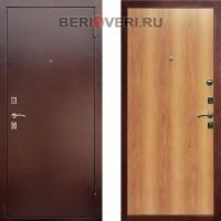 Металлическая дверь REX Эконом Миланский орех