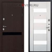 Металлическая дверь REX Премьер Z-2 Белый