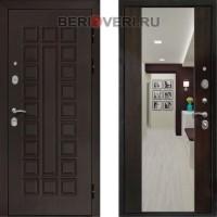 Металлическая дверь REX Сенатор Зеркало Венге