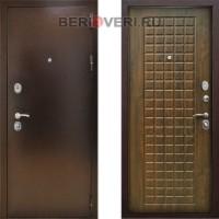 Металлическая дверь Снедо Титан 3К Грецкий орех