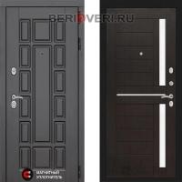 Металлическая дверь Лабиринт Нью-Йорк 02 Венге