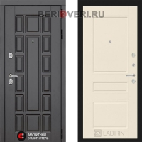 Металлическая дверь Лабиринт Нью-Йорк 03 Крем софт