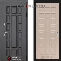 Металлическая дверь Лабиринт Нью-Йорк 04 Беленый дуб
