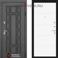 Металлическая дверь Лабиринт Нью-Йорк 13 Белый софт