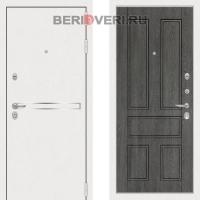 Металлическая дверь Лабиринт Лайн White 10 Дуб филадельфия
