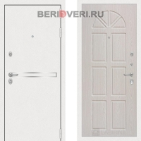 Металлическая дверь Лабиринт Лайн White 15 Винорит