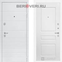 Металлическая дверь Лабиринт Трендо 03 Белый софт