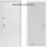 Металлическая дверь Лабиринт Трендо 06 Белое дерево